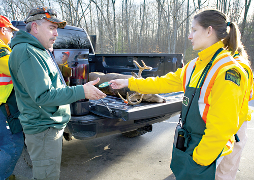 DNR: CWD, deer hunter numbers and baiting ban