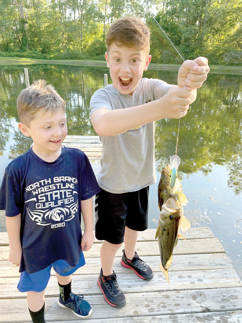 Take a kid catchin' and teach 'em to fish