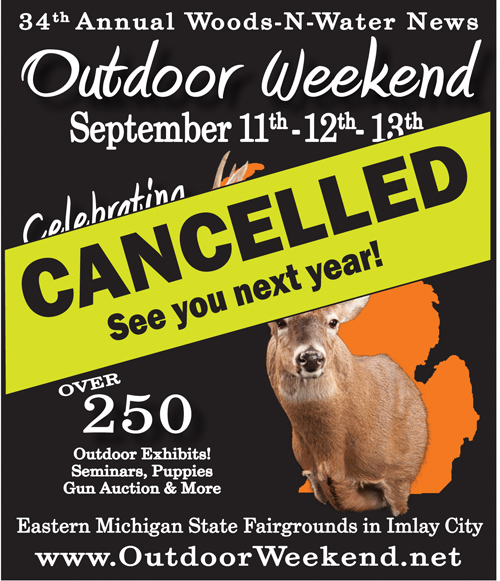 CANCELLATION of the Outdoor Weekend 2020, September 11-13