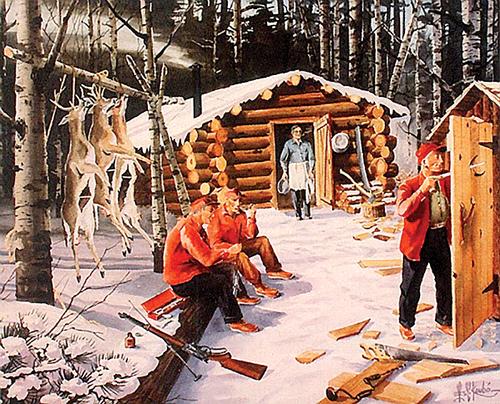 The vanishing deer camp
